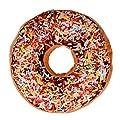Hunputa New style Doughnut Shaped Ring Plush Soft Novelty Style Cushion Pillow