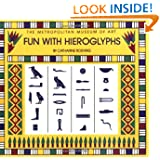 Fun with Hieroglyphs: 24 Rubber Stamps, Hieroglyph Guidebook, Ink Pad (Box Set) (The Metropolitan Museum of Art...