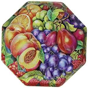 Churchill's Orchard Fruits Tin with Natural Fruit Jellies 300 g (Pack of 2)