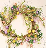 Spring Easter Egg Door Wreath