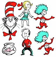 Eureka Large Dr. Seuss Characters Dec…