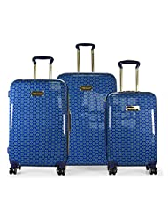 Tommy Hilfiger Norwood Polycarbonate Navy Luggage Set (TH/NOR08065)