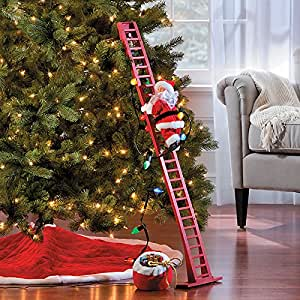 Amazoncom Super Climbing Santa