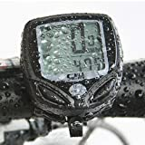 chincyboo Wireless Waterproof LCD Bike Computer Odometer Speedometer - Multi Function: Speed Comparator & Average Speed & Maximum Speed & Relative Speed & Riding Time & Riding Distance & Total Riding Distanceby tinkertonk
