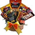 Manly Mans Meat and Snack Attack Gift Basket