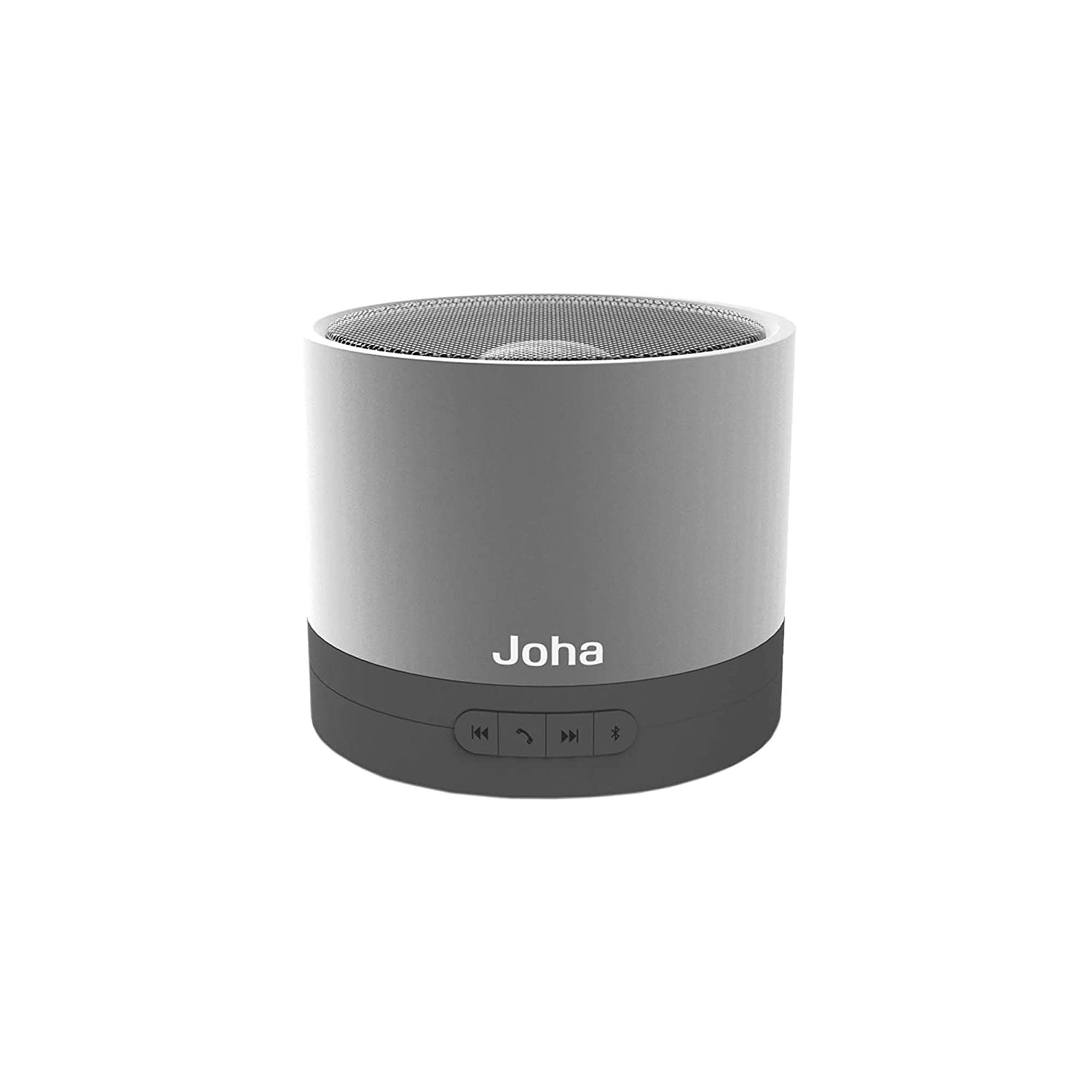 Joha - Bluetooth v2.1 Bass Speaker with Microphone - JBS601 trendwoo® twins bluetooth wireless speaker support 2 0 left and right stereo sound surround with built in microphone hands free music player