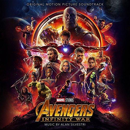 CD : Alan Silvestri - Avengers: Infinity War (original Soundtrack)