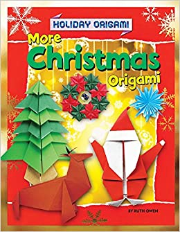 More christmas origami holiday origami hardcover january 1 2015