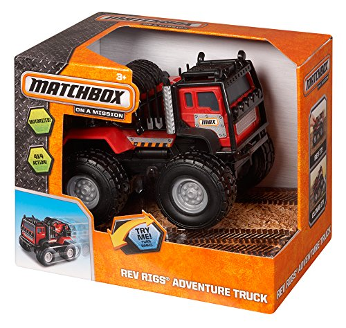 Matchbox Rev Rigs Adventure Truck - 1