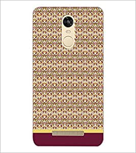 PrintDhaba Pattern D-1613 Back Case Cover for XIAOMI REDMI NOTE 3 (Multi-Coloured)