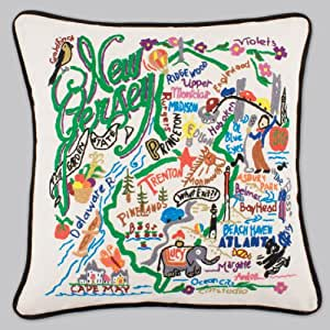 Catstudio New Jersey Pillow Original Geography Collection Home D Cor 039 Cs Home