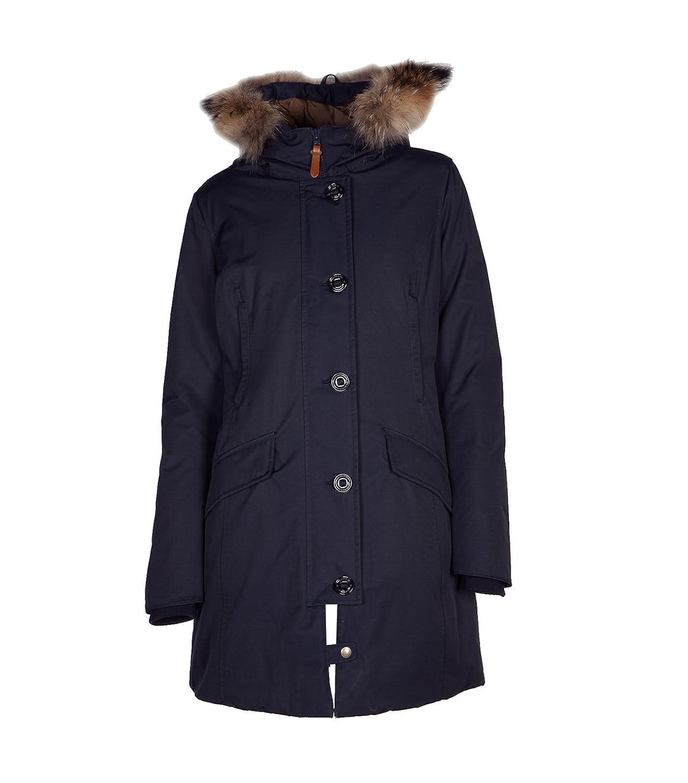 MUSEUM Damen Mantel Winter Baumwolle blau kaufen