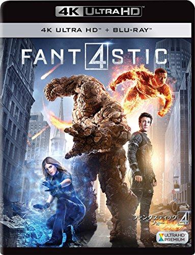 ファンタスティック・フォー(2枚組)[4K ULTRA HD + Blu-ray]