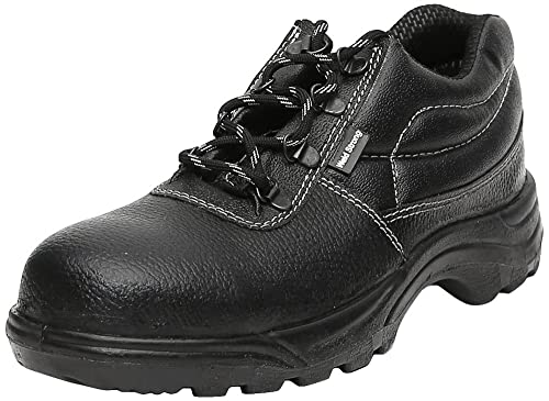 Weldstrong Leather Safety Shoe ISI Steel Toe available at Amazon for Rs.299