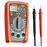 Eventek Digital Multimeter, ET380 Electronic Amp Volt Ohm Voltage Meter Multimeter with Diode and Continuity Test Tester With Backlight