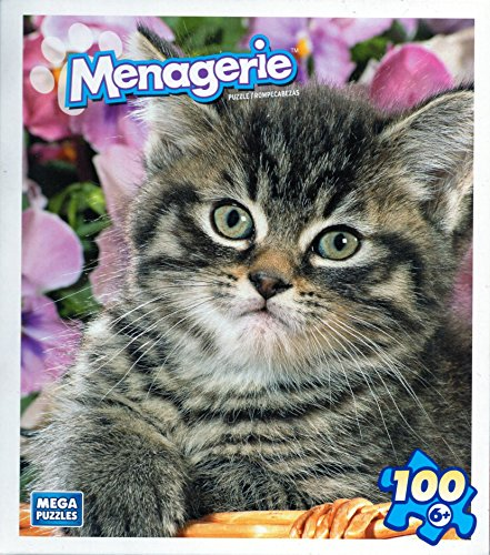 Menagerie 100 Plus Piece Puzzle - Little Tigar