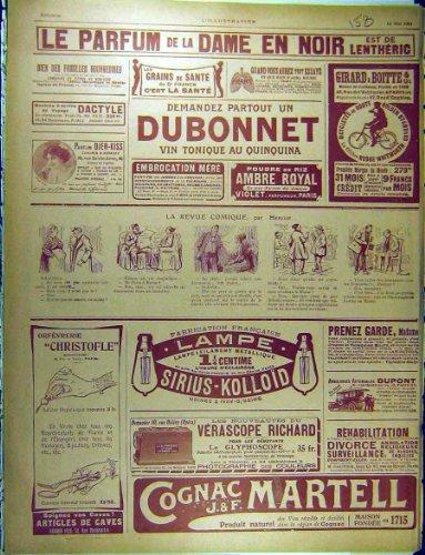 1911 Francese di Dubonnet Martello Lentheric Du Pont dell'Annuncio