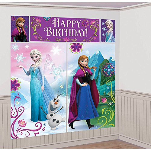 Disney Frozen Scene Setter - Birthday and Theme Party Supplies