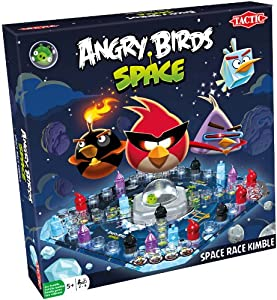 Angry Birds Space - Space Race Kimble - Jeux de Plateau Edition Anglaise (Import Royaume-Uni)