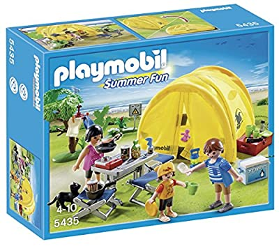 Playmobil 5435 Summer Fun Family with Camping Tent