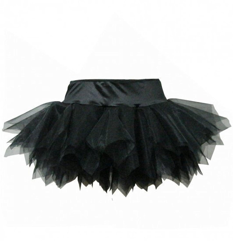XTSOL Damen Sexy Corsagen-Tüllrock schwarz XL günstig kaufen