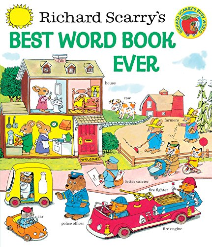 Richard Scarry's Best Word Book Ever (Giant Little Golden Book)