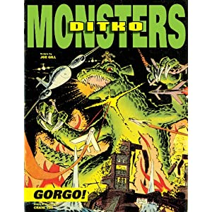 IDW udgiver Steve Ditko&#8217;s &#8220;Gorgo&#8221; til februar 2013