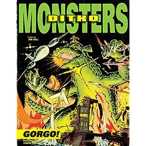 """IDW udgiver Steve Ditko's """"Gorgo"""" til februar 2013"""
