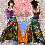 B015 Baggy Pantalon Sarouel - Robe Bustier - Jupe Boule Créateur 34/36/38/40/42/44/46