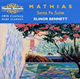 : Mathias: Santa Fe Suite & Other 20th Century Harp Classics