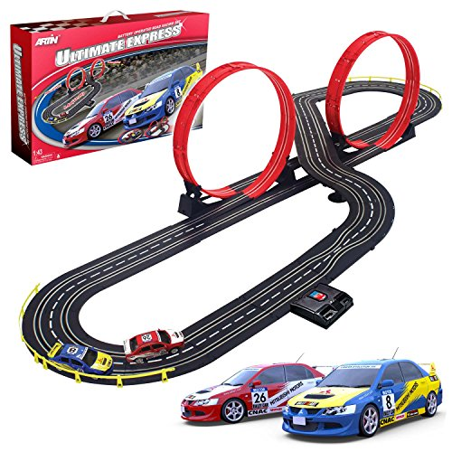 Artin 143 Scale Ultimate Express Slot Car Racing Set (Racing Cars compare prices)