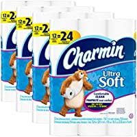 Charmin Ultra Soft Double Roll Toilet Paper (48 Count)