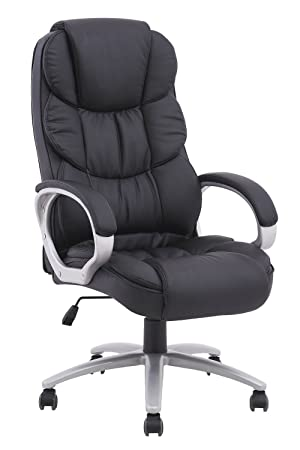 High Back Executive PU Leather Ergonomic Office Desk Computer Chair O10 Review