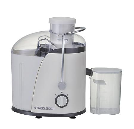 Black & Decker JE400 400-Watt Juice Extractor (White) at amazon