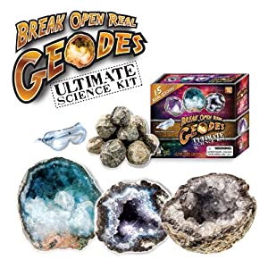 Discover with Dr. Cool Ultimate Geode Science Kit, Set of 15