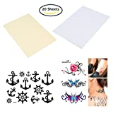 BENECREAT 20 Sheets DIY A4 Temporary Tattoo Transfer Paper Printable Customized Halloween Tattoos