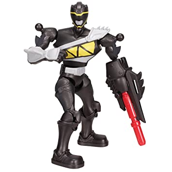 Power Rangers - 42082 - Figurine - Mixx N'morph - Dino Charge - Noire - 16 Cm