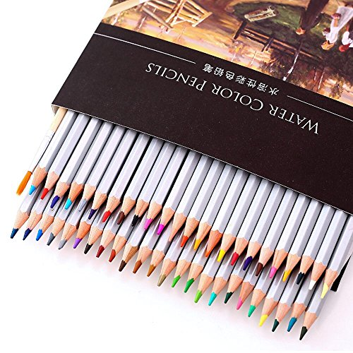 [Colored Pencils, izBuy Drawing Kit 48 pcs Premier Soft Core Art Colored Drawing Pencils for Kids Artist Writing/ Artist Sketch/ Manga Artwork/ Adult Secret Garden Coloring Book] (Bus Driver Uniform Costume)