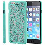 iPhone 6 Case - VENA [TACT] Ultra Slim Fit Hard Quill Design Pattern Cover for Apple iPhone 6 (4.7) - Teal