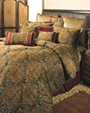 Sherry Kline Tangiers Royale Comforter Set, Queen, Gold