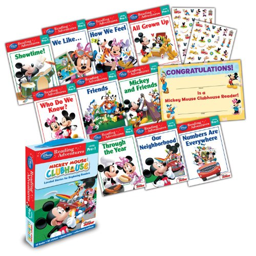 Mickey Mouse Clubhouse: Reading Adventures Mickey Mouse Clubhouse Level Pre-1 Boxed Set