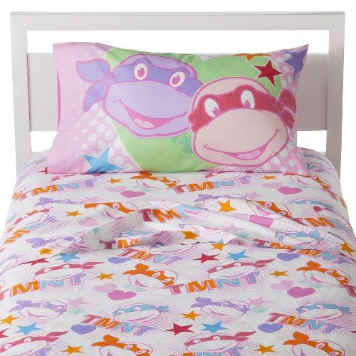 "Nickelodeon Teenage Mutant Ninja Turtles ""I Love Tmnt"" Sheet Set, Twin"
