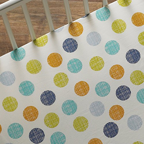 Lolli Living Baby Bot Fitted Sheet, Bot Dot