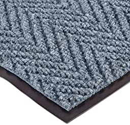 NoTrax 105 Chevron Entrance Mat, for Lobbies and Indoor Entranceways, 3\' Width x 5\' Length x 5/16\