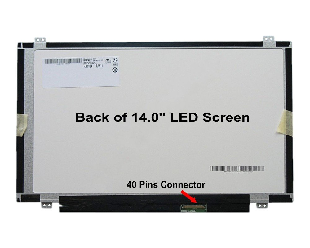 14.0 WXGA HD LED LCD Screen For HP Pavilion Sleekbook 14-b017cl ,14-b120dx , 14-b031us ( LCD ONLY NO TOUCHSCREEN ) free shipping ems 48 4st10 031 681999 001 laptop motherboard for hp pavilion dv7 notebook pc