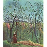 Matterden 'A Walk In The Forest By Henri Rousseau' Poster (Fine Art Paper, 46 Cm X 53 Cm)