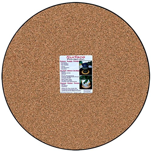 Cwp Mc 1600 Plant Mat Natural Cork 16 Inch Home Garden