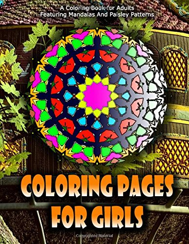 COLORING PAGES FOR GIRLS - Vol.2: coloring pages for girls: Volume 2