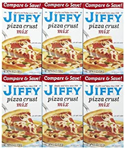Jiffy Pizza Crust Mix 6.5 Oz. (Pack of 6)