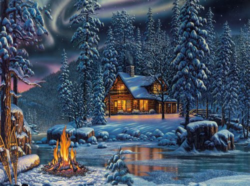 MasterPieces Puzzles The Great Outdoors - Aurora Bliss - 1